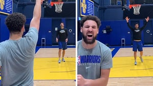 Klay Thompson Hits TWELVE Straight 3-Pointers, What Achilles Injury?!