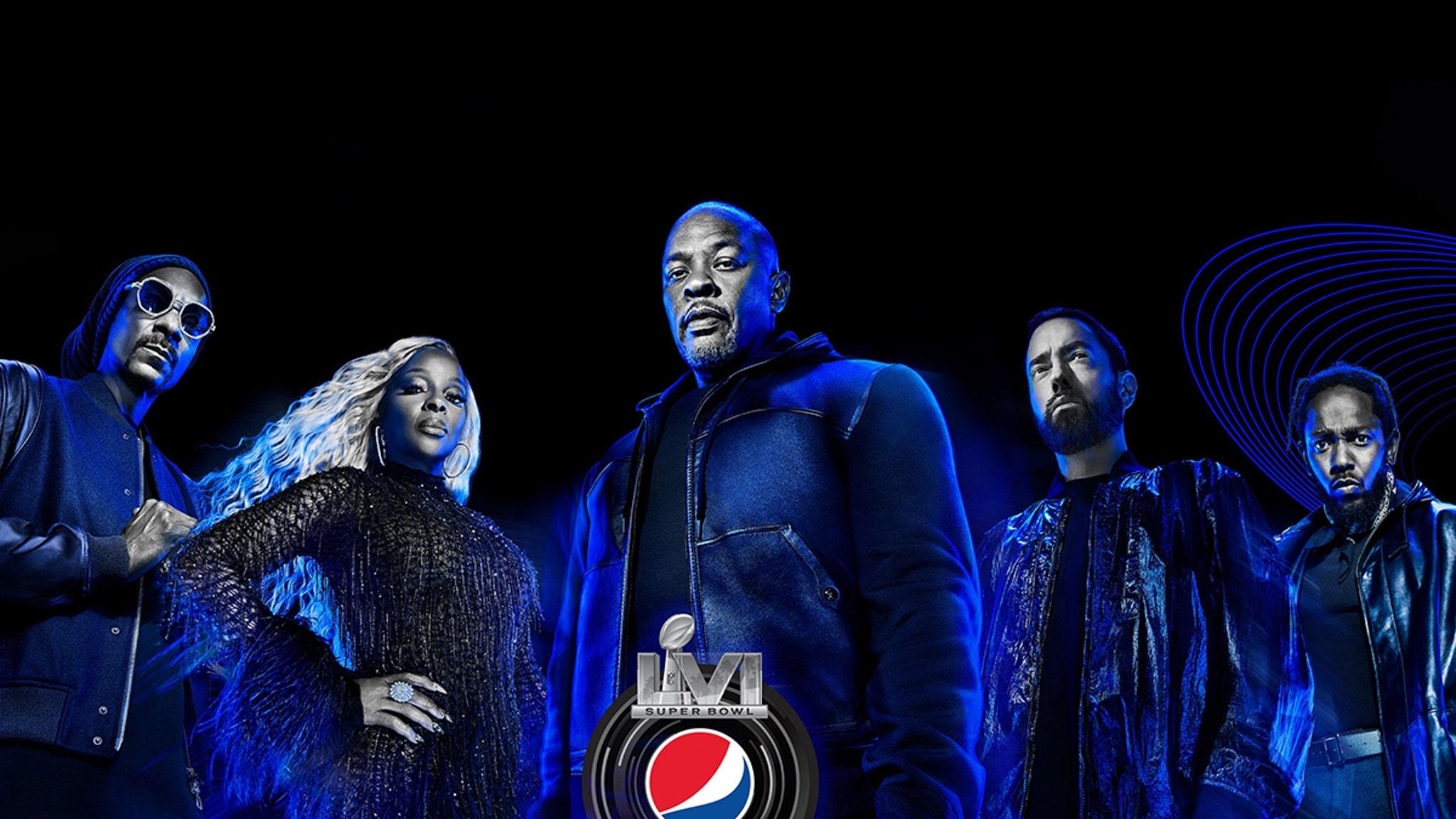 Dr. Dre, Eminem, Kendrick Lamar To Perform Super Bowl Halftime Show