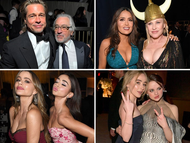 Inside The Golden Globes After-Parties