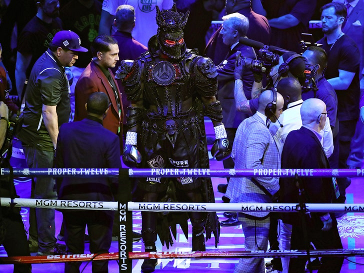 Image result for deontay wilder costume
