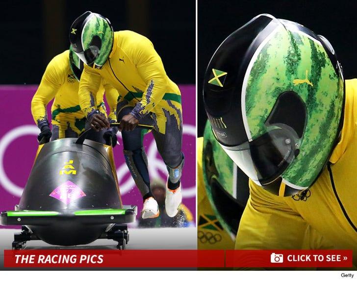 Jamaica's Watermelon Helmets