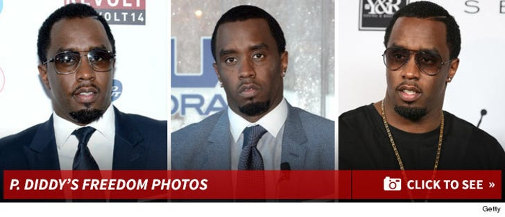 P. Diddy's Freedom Photos
