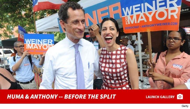 Huma Abedin and Anthony Weiner -- Before the Split