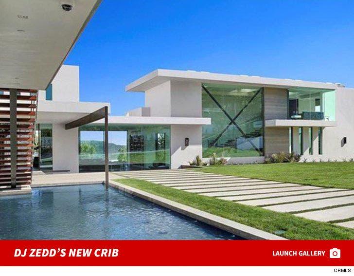 DJ Zedd's New Benedict Canyon Mansion