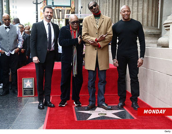 Snoop Dogg Gets Star On Hollywood Walk of Fame, Shouts Out