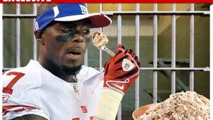 Plaxico's Final Prison Meal -- Sowing His Oats