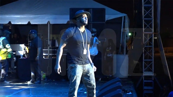 Mystikal Returns to Stage For 1st Big Performance Since Release From