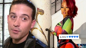 G-Eazy and Megan Thee Stallion Kiss and Go Instagram Official