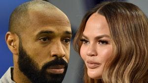 Soccer Legend Thierry Henry Follows Chrissy Teigen's Lead, Ditches Social Media