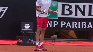 Novak Djokovic Goes Off On Ump In Meltdown At Italian Open
