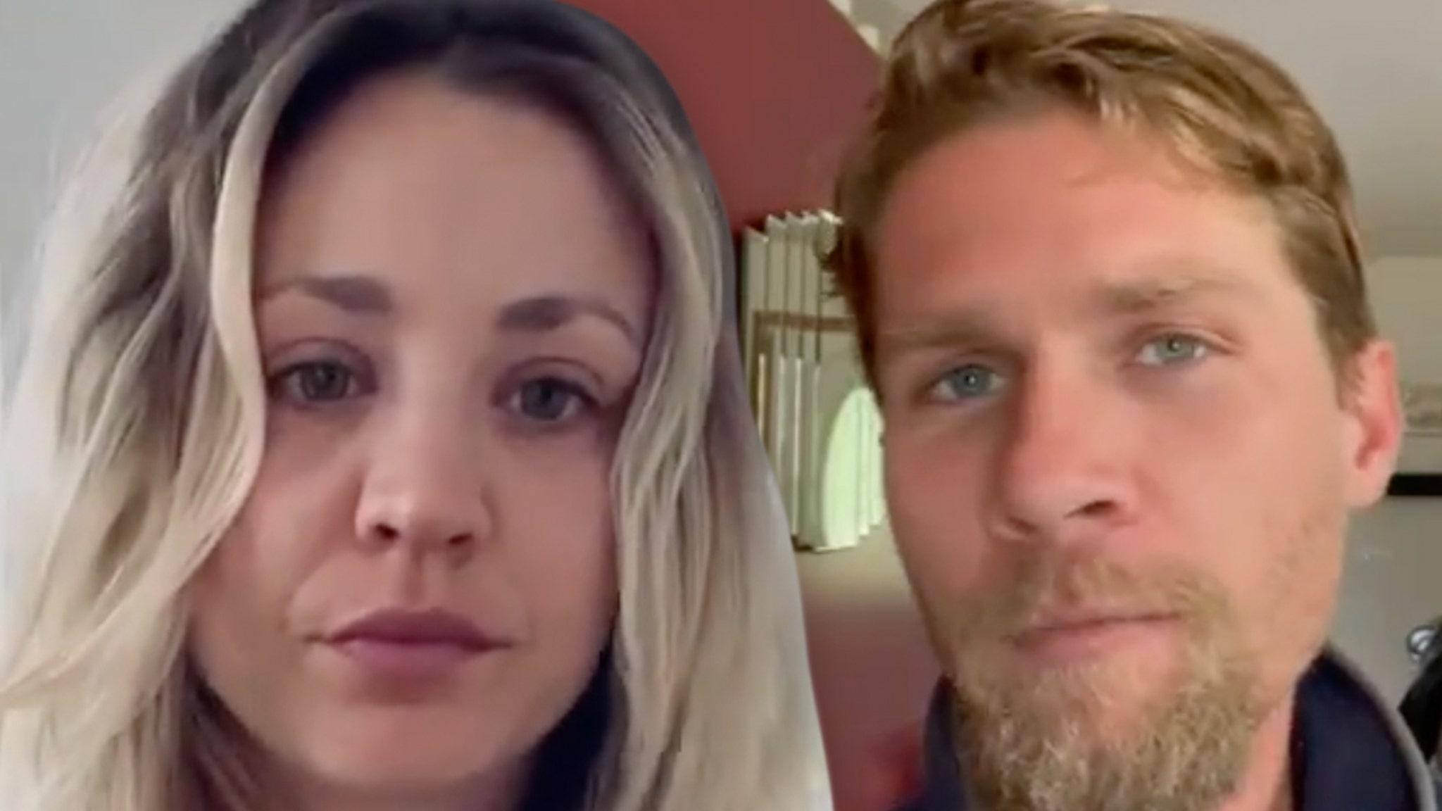 Kaley Cuoco Comments Hearts on Estranged Husband's Photo thumbnail