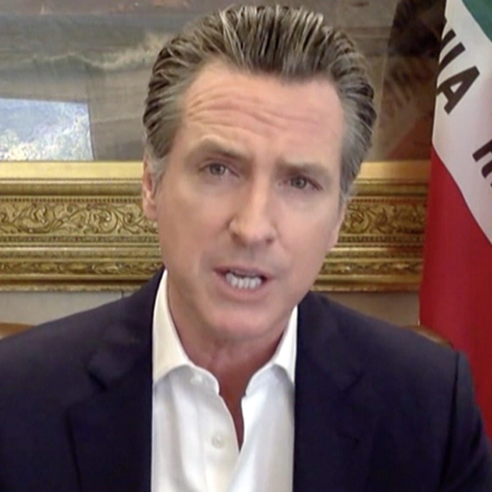 CA Gov. Gavin Newsom Punches Back at Trump Threat to Cut Fire Aid