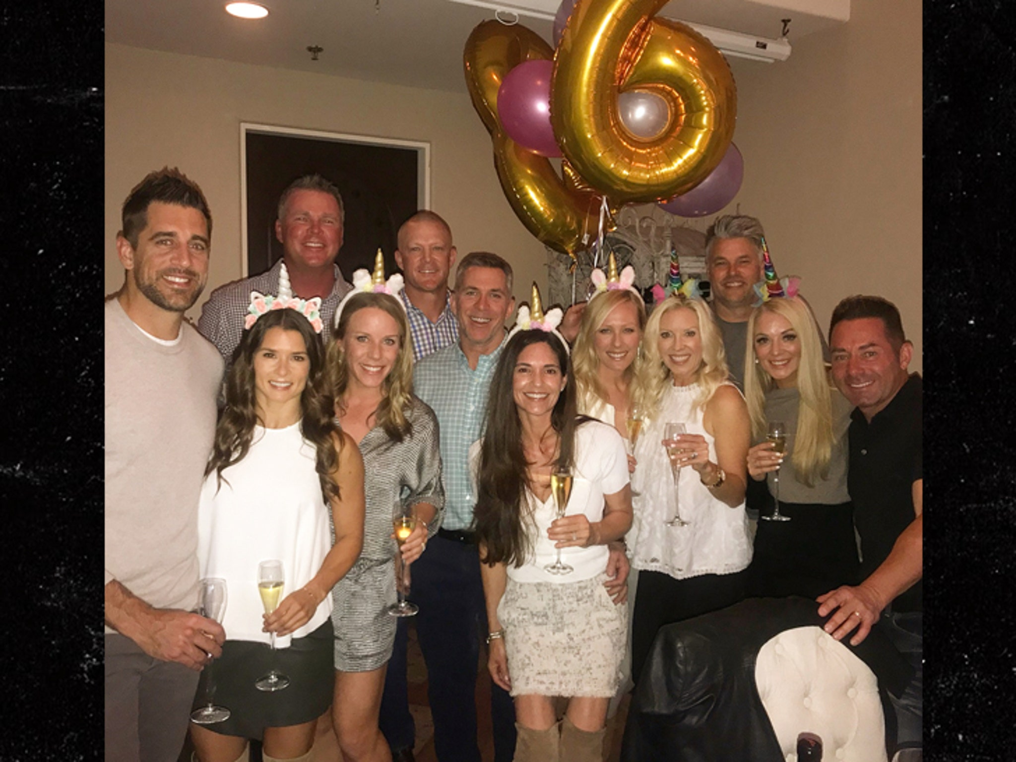 Danica Patrick Rings in 36th Birthday with Boyfriend Aaron Rodgers