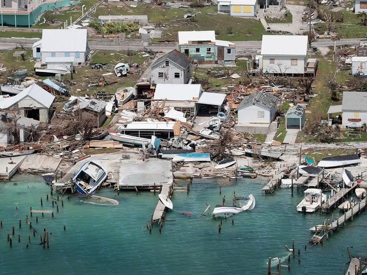 Hurricane Dorian Damage in the Bahamas
