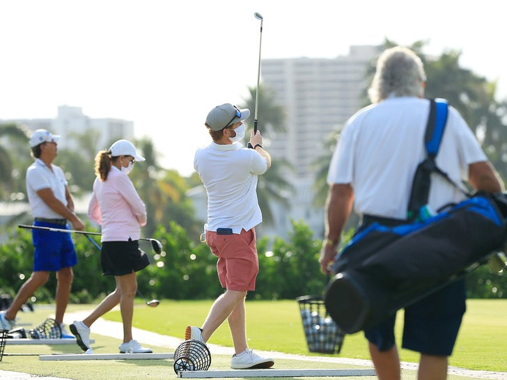 Golfing Re-Opens In Florida