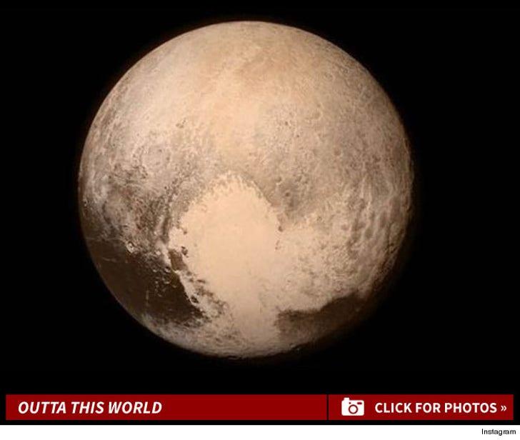 NASA's Pluto Photos