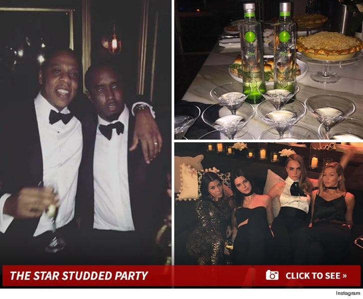 Diddy's Epic Birthday Party