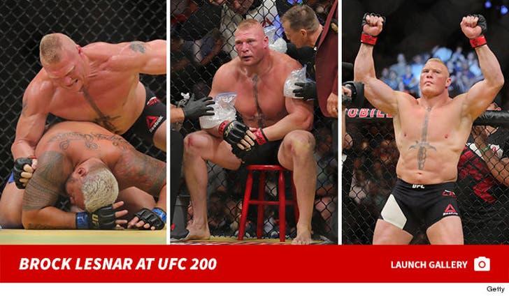 Brock Lesnar vs. Mark Hunt UFC 200