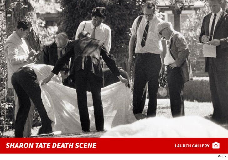 The Tate Murder Crime Scene