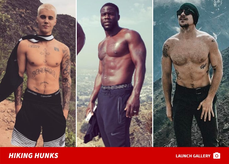 Hiking Hunks