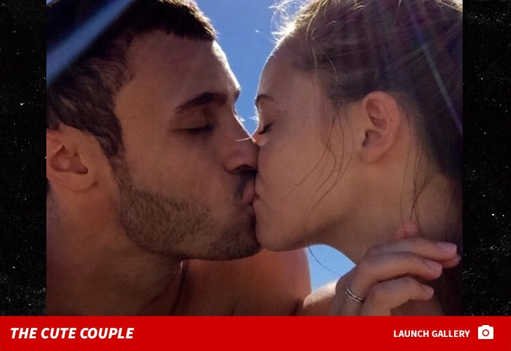 Larry Nance Jr. and Hailey Pince -- The Cute Couple