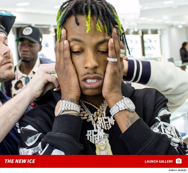 Rich the Kid's New Jewelry