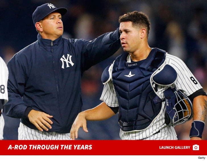 Alex Rodriguez Through The Years