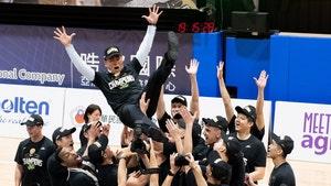 Taiwan Basketball Team Celebrates Win W/ No Masks, Sweaty Hugs All Around!