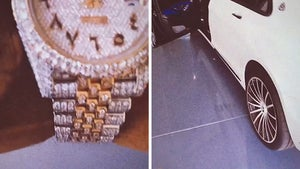 Sean Kingston Shows Off Watch, Cars Amid Grand Theft Charge