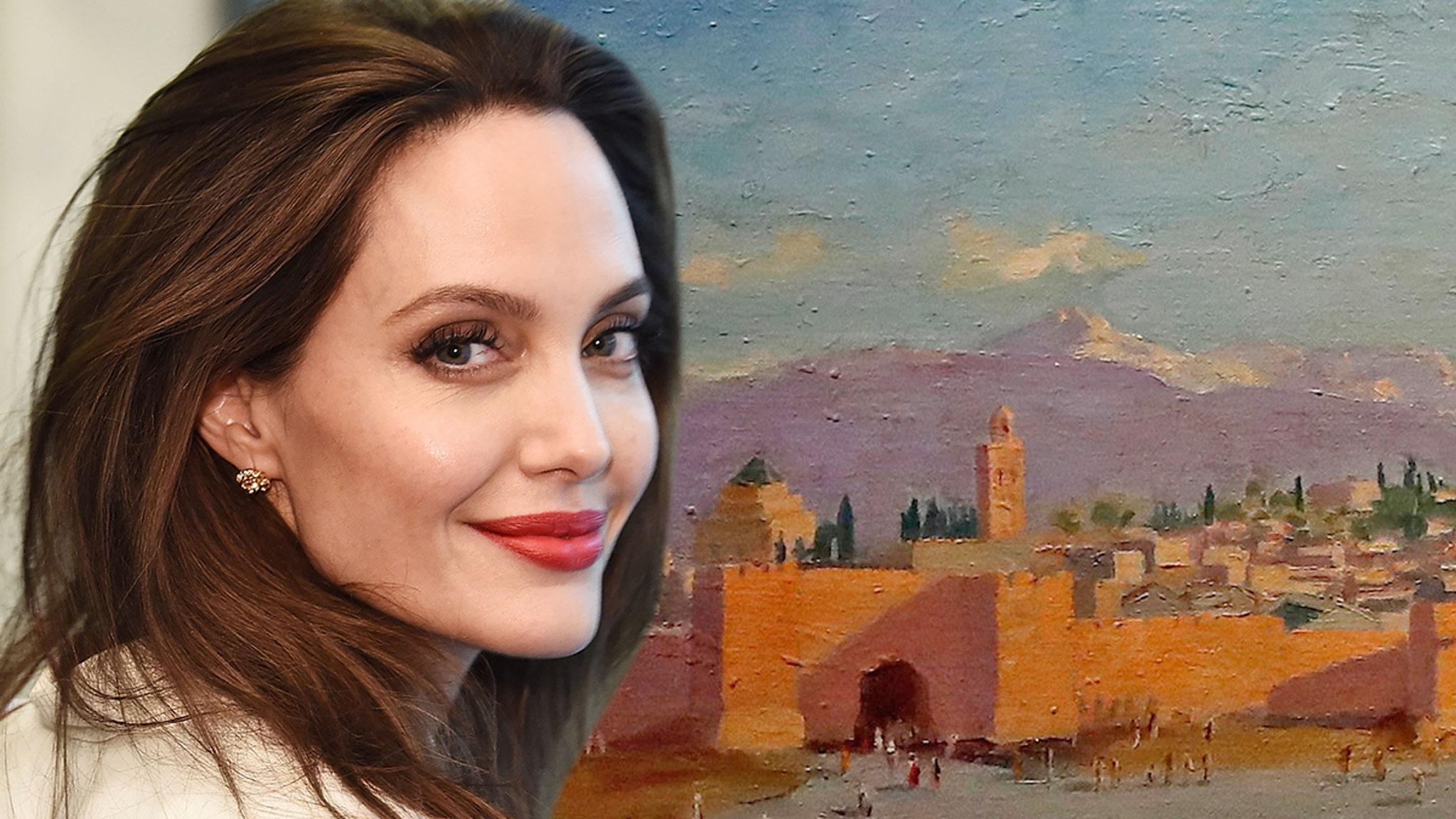 Картина Анджелины Джоли Уинстона Черчилля продана за 11,5 миллиона долларов