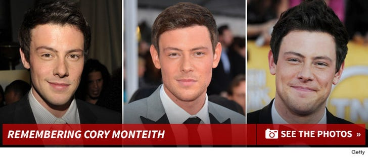 Cory Monteith Through The Years