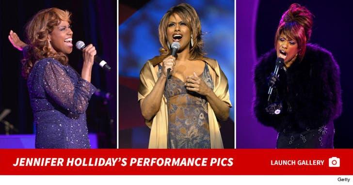 Jennifer Holliday's Performance Photos