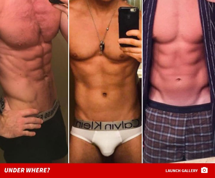 Studs In Their Skivvies -- Guess Who!