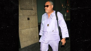 Laurence Fishburne Goes Toes Out for Stroll Down Hollywood Walk of Fame