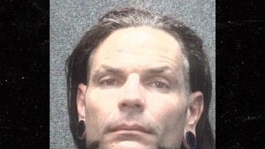 WWE's Jeff Hardy Was Passed Out In Stairwell Before Arrest, Cops Say