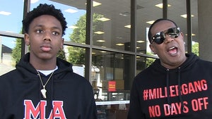 Master P & Son Hercy Challenging MN Rule, It's Stopping Kids From Hooping!!