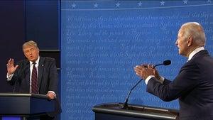 Joe Biden Rips President Trump as 'Clown' During First Presidential Debate