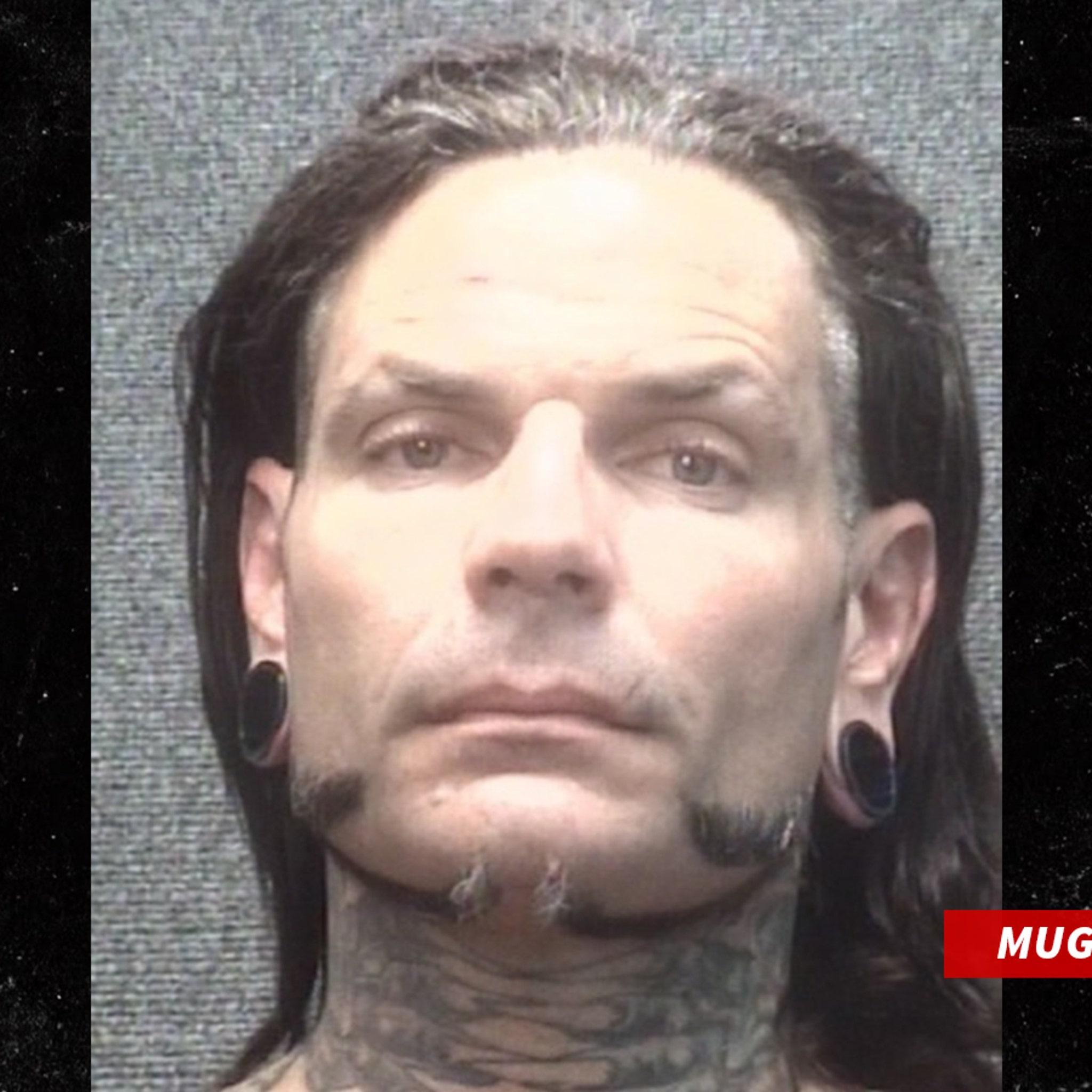WWE Wrestler Jeff Hardy Arrested for Drunk in Public