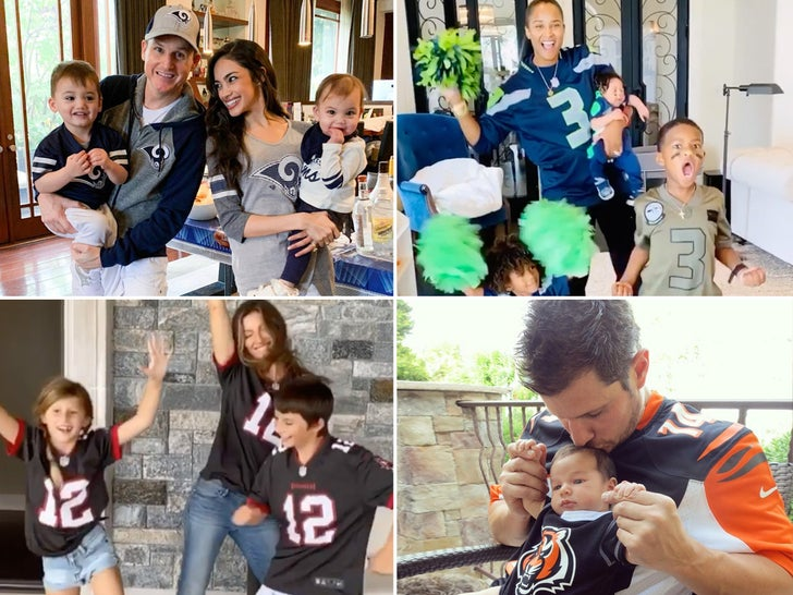 Famous Families Who Are Football Fanatics