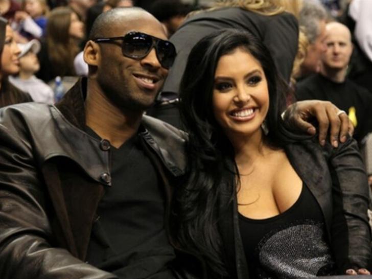 Kobe and Vanessa -- The Cute Couple