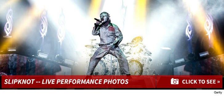 Slipknot on Stage -- The Performance Pics