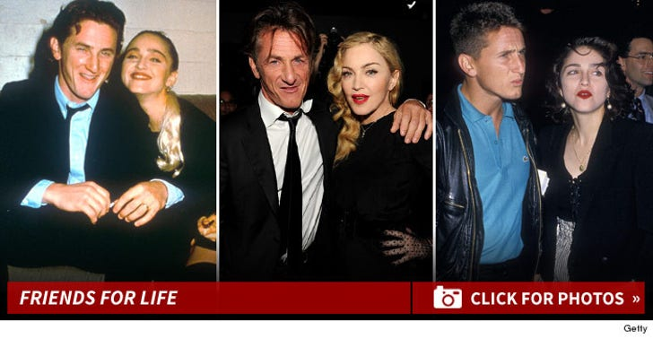 Madonna and Sean Penn -- Friends For Life