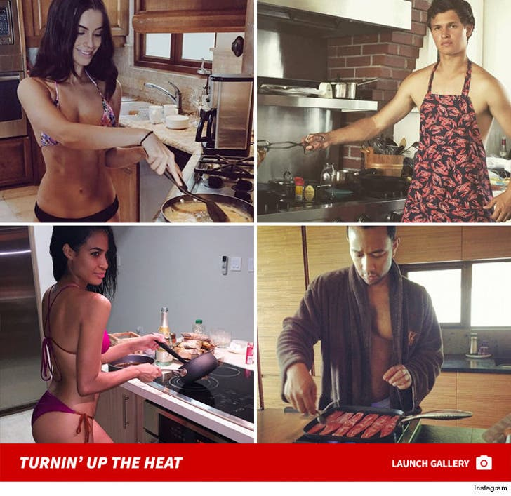 Sexy Stars in the Kitchen -- What's Cookin'?!