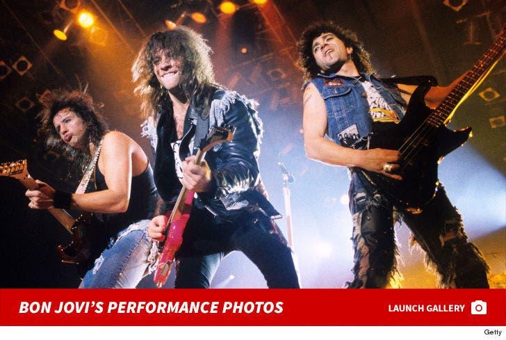 Bon Jovi's Rockin' Performance Photos
