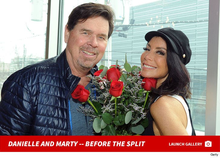 Danielle Staub and Marty Caffrey -- Before The Split