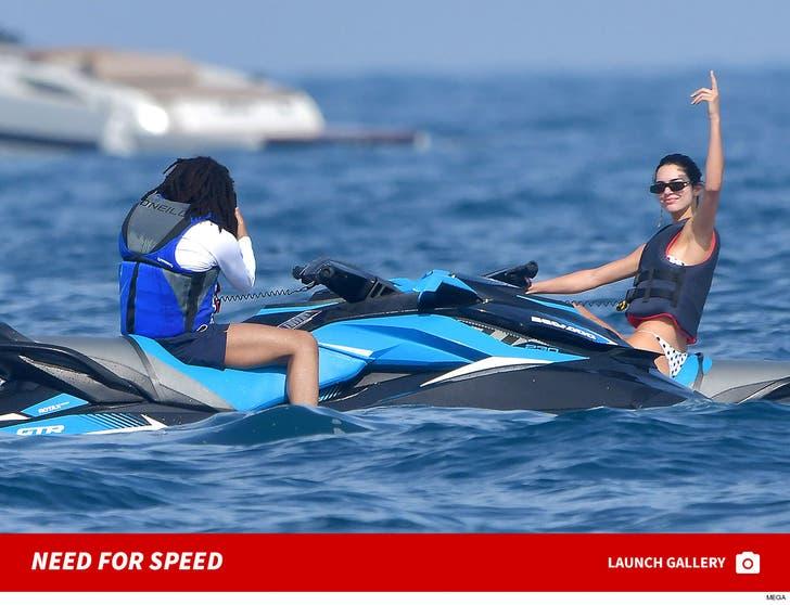 Kendall Jenner -- Jetski's in Monaco
