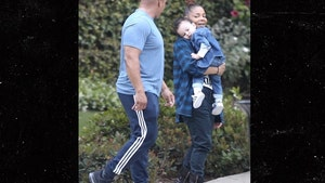 Janet Jackson Spends Mother's Day in Park With Son Eissa