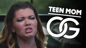 Amber Portwood Says BF is 'Insane' For Machete Wielding Claim