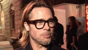 Brad Pitt Strategically Left Kids Out of Golden Globes Speech