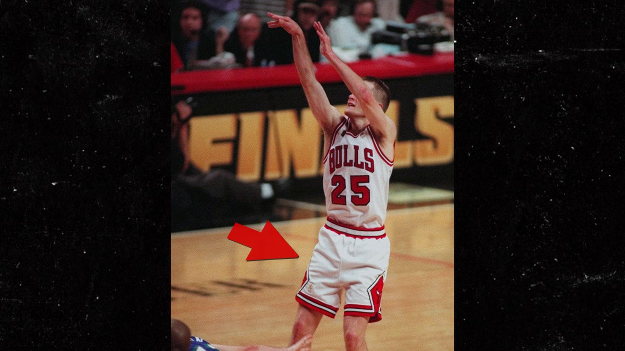 Steve Kerr's Game Worn '97 NBA Finals Winning Shorts On Auction Block